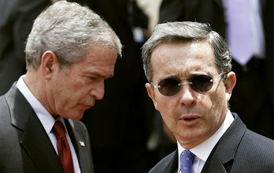 Bush y Uribe
