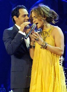 Jennifer Lopez y Marc Antony