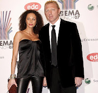 Boris Becker y Sharlely 'Lily'