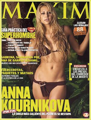 Anna Kournikova, Maxim