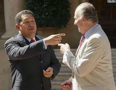 Hugo Chávez y el Rey de España