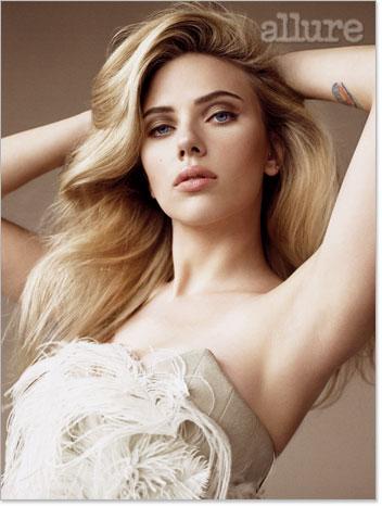 Scarlett Johansson en Allure