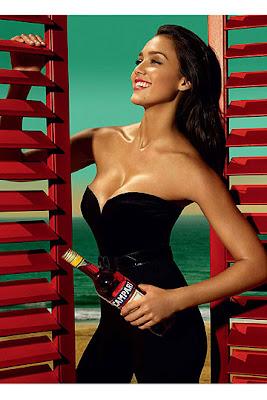 Jessica Alba - Calendario Campari 2009 - Octubre