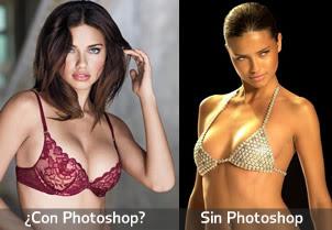 Adriana Lima: ¿son sus pechos o tiene ayudita?