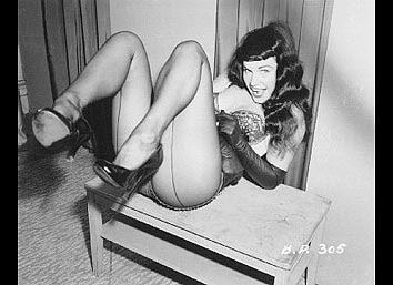 Betty page, la reina de las pin-up