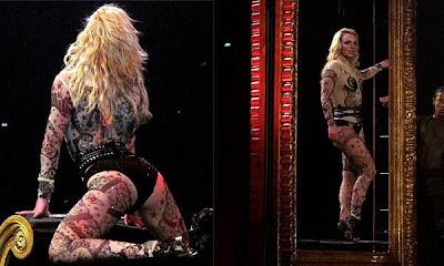 Britney Spears rellenita pero deleita a sus fans