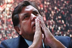 Alan García dice que Dios defiende causa peruana