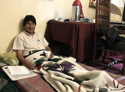 La última bufonada de Evo Morales: se pone en huelga de hambre