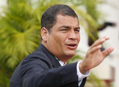 Rafael Correa, cerca a la reelección como presidente de Ecuador