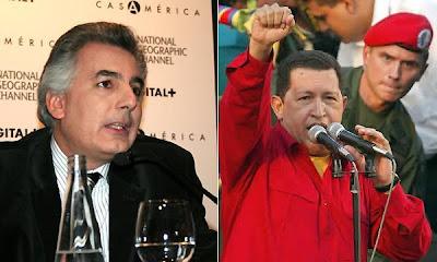 Álvaro Vargas Llosa detenido por Hugo Chávez en Venezuela