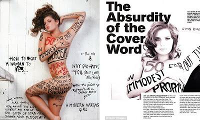 Rose Corby posa desnuda en Australia y la acosan
