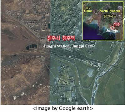 map of north korea at night. north korea map at night.