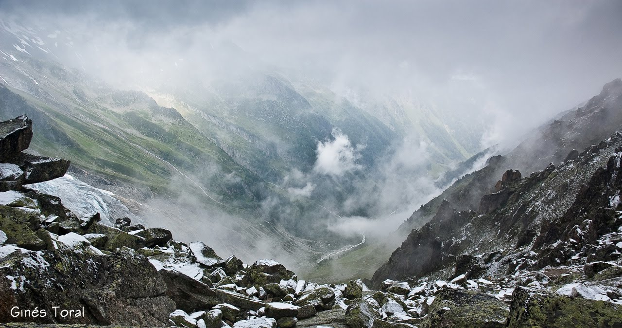 Estepablanca tour del mont blanc 6 etapa refugio d for Fenetre d arpette