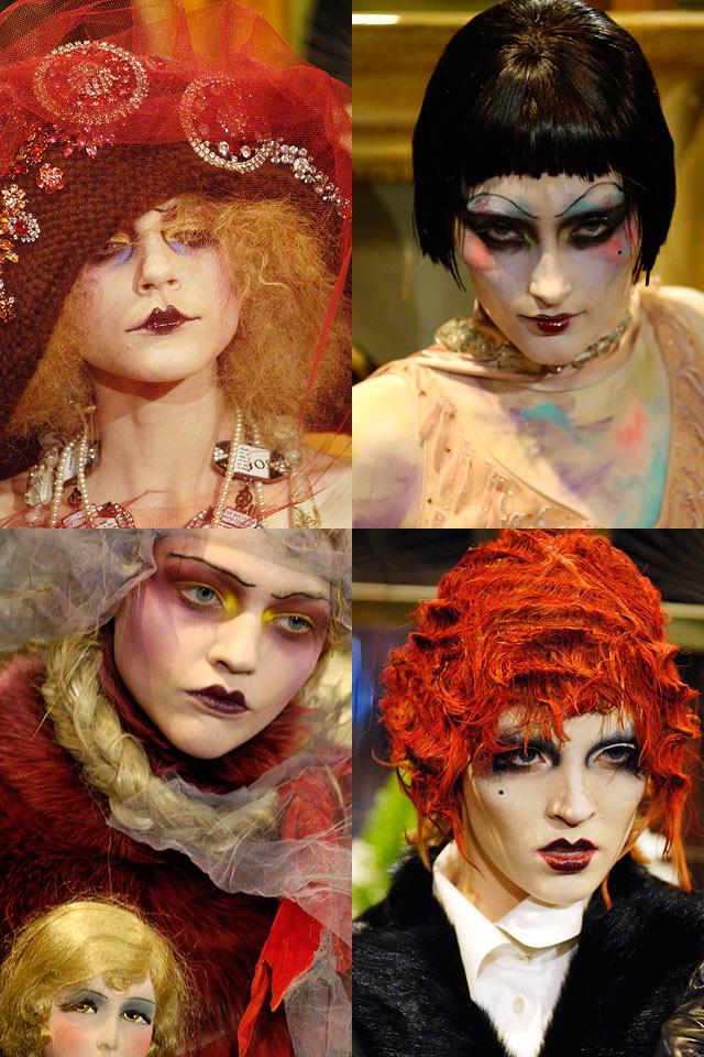 1920s makeup look. 1920s hair and makeup.