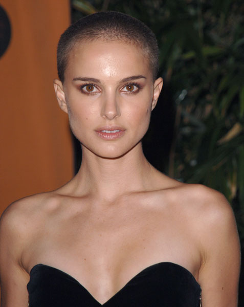 pictures of natalie portman and. Bald Natalie Portman