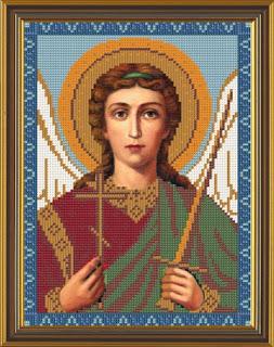 """Наборы для вышивания бисером  """"Святой Ангел Хранитель """".  1187... Вышивка бисером иконы Размер: 26*35см Состав набора..."""