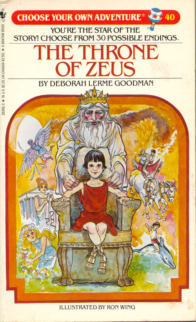 I loved the Choose Your Own Adventure series, among others.