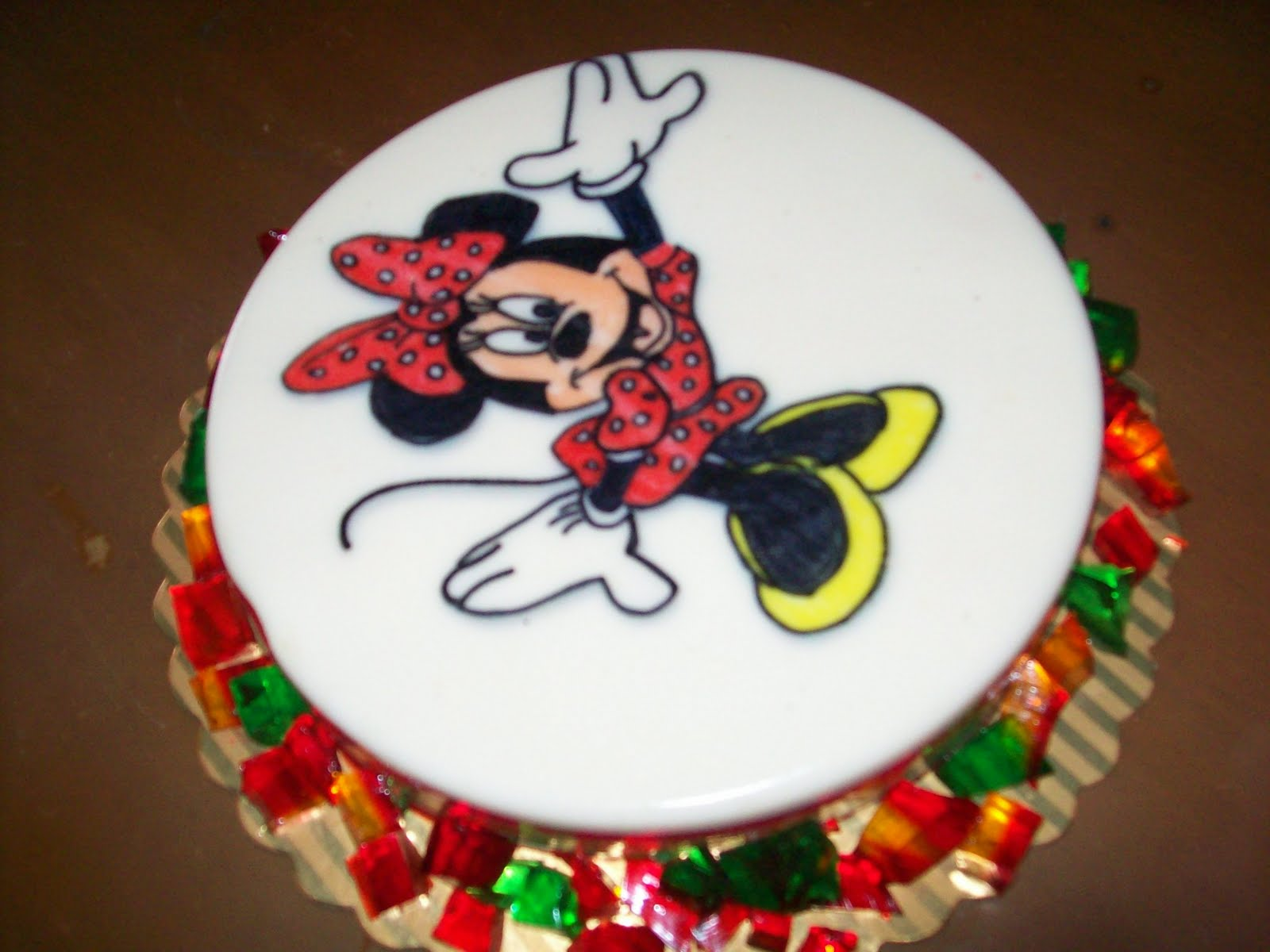 Gelatina de Minnie Mouse