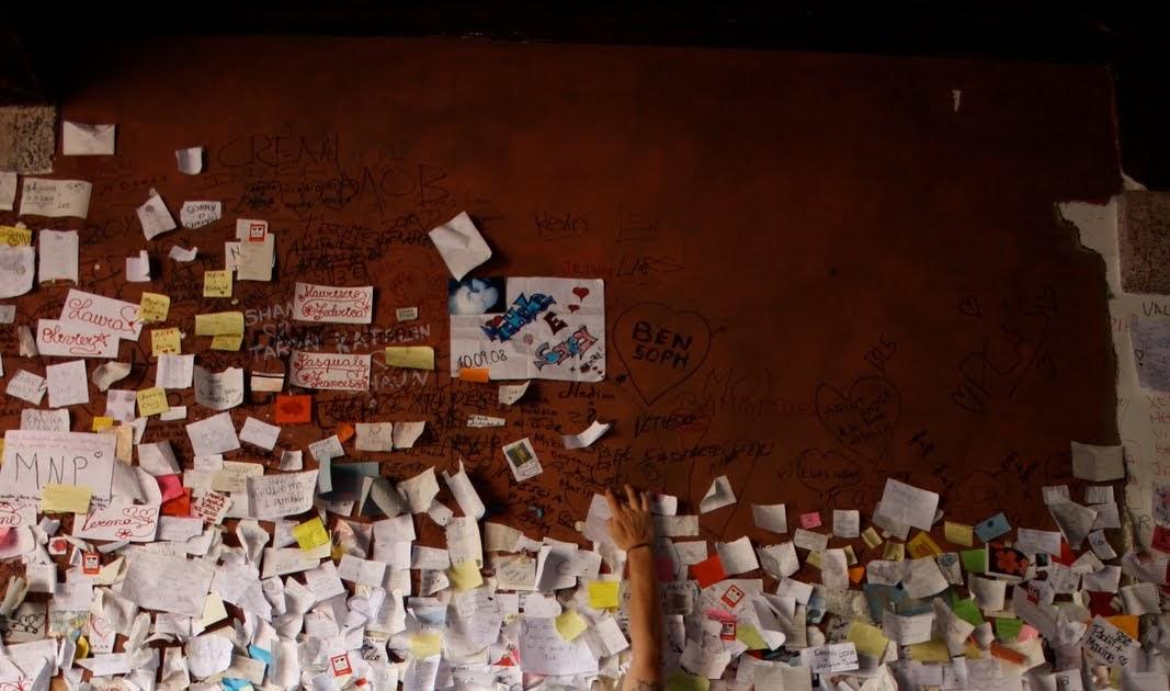 NUMAN OGUZCAN Juliets Love Letter Tunnel Verona