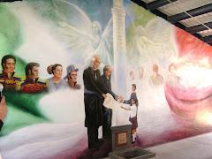 Mural Bicentenario y Cápsula del Tiempo