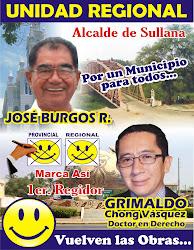 JOSÉ ANTONIO BURGOS RAMOS, candidato a Alcalde por la Provincia de Sullana