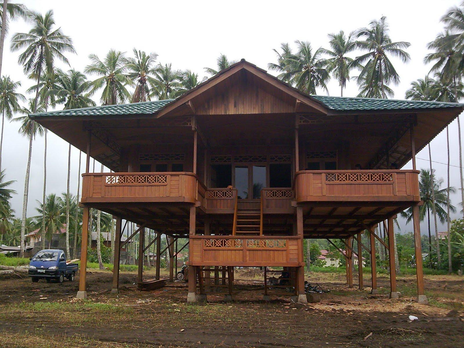 Rumah Panggung Minahasa Woloan