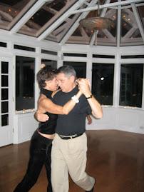 Joan dancing tango