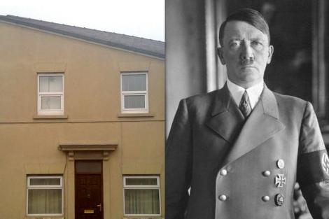 ¿Esta casa se parece a Hitler? Hay que tener imaginación