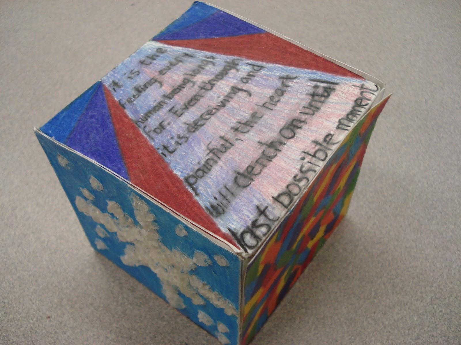 8 Art Elements : A faithful attempt elements of art cube