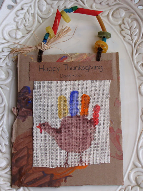 Thanksgiving Preschool Craft Handprint Turkey Keepsake
