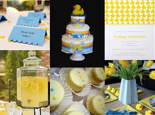 think of ideas this rubber ducky theme is really cute