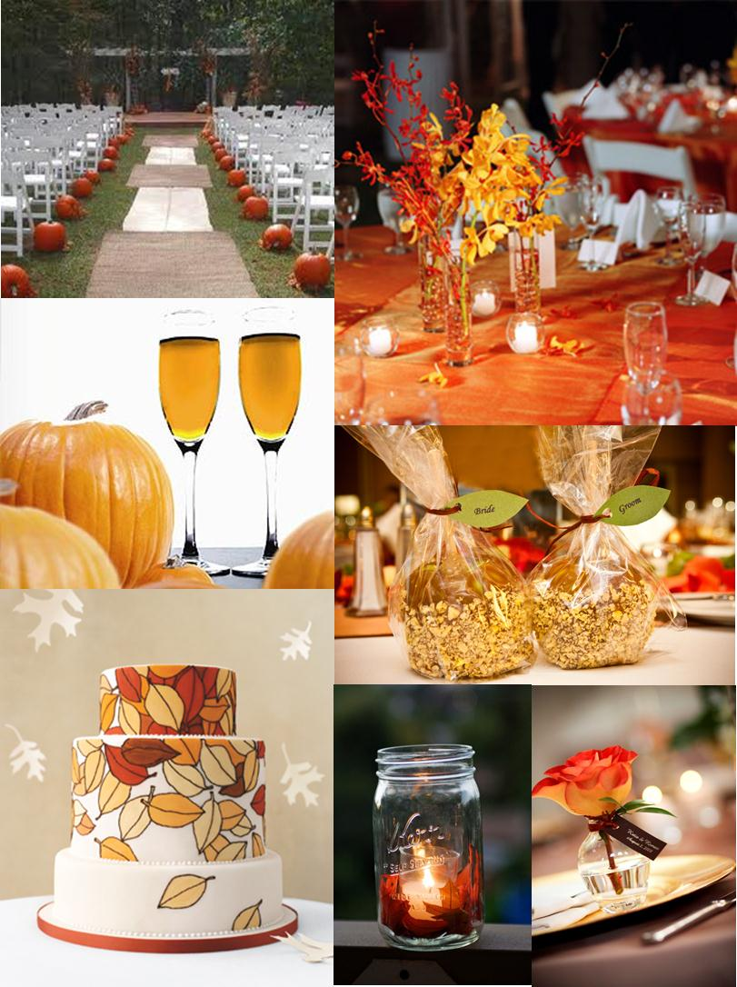 Details fall wedding ideas for Autumn wedding decoration ideas