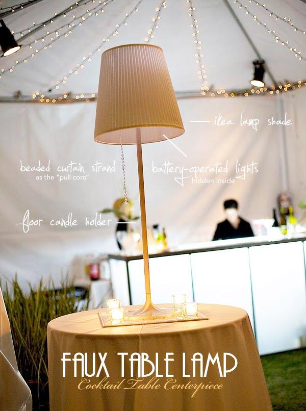 Details Diy Table Lamp Centerpiece