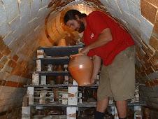 kiln unloading