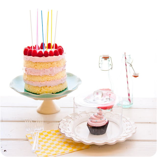 cake birthday cake french toast cake or lemon cake with raspberry curd ...