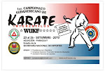 1º campeonato sulamericano de karatê wukf