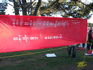Burmese Communities in 14 cities and towns from US condemned Regime's 2010 Election