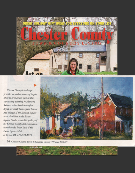 Chester County Town & Country Living Magazine