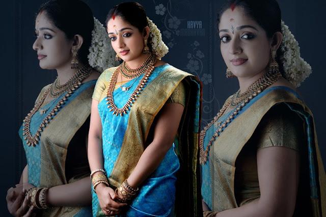 kavya wedding saree