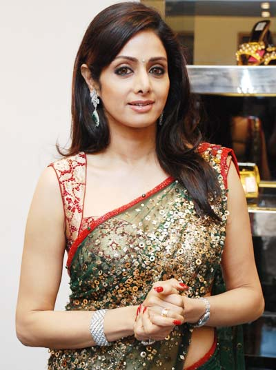 sridevi saree photos