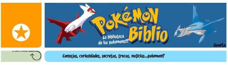 La BiBLioTeCa De lOs PokeMoNS!!