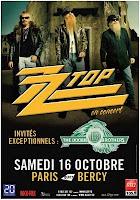 flyer ZZ Top popb 2010