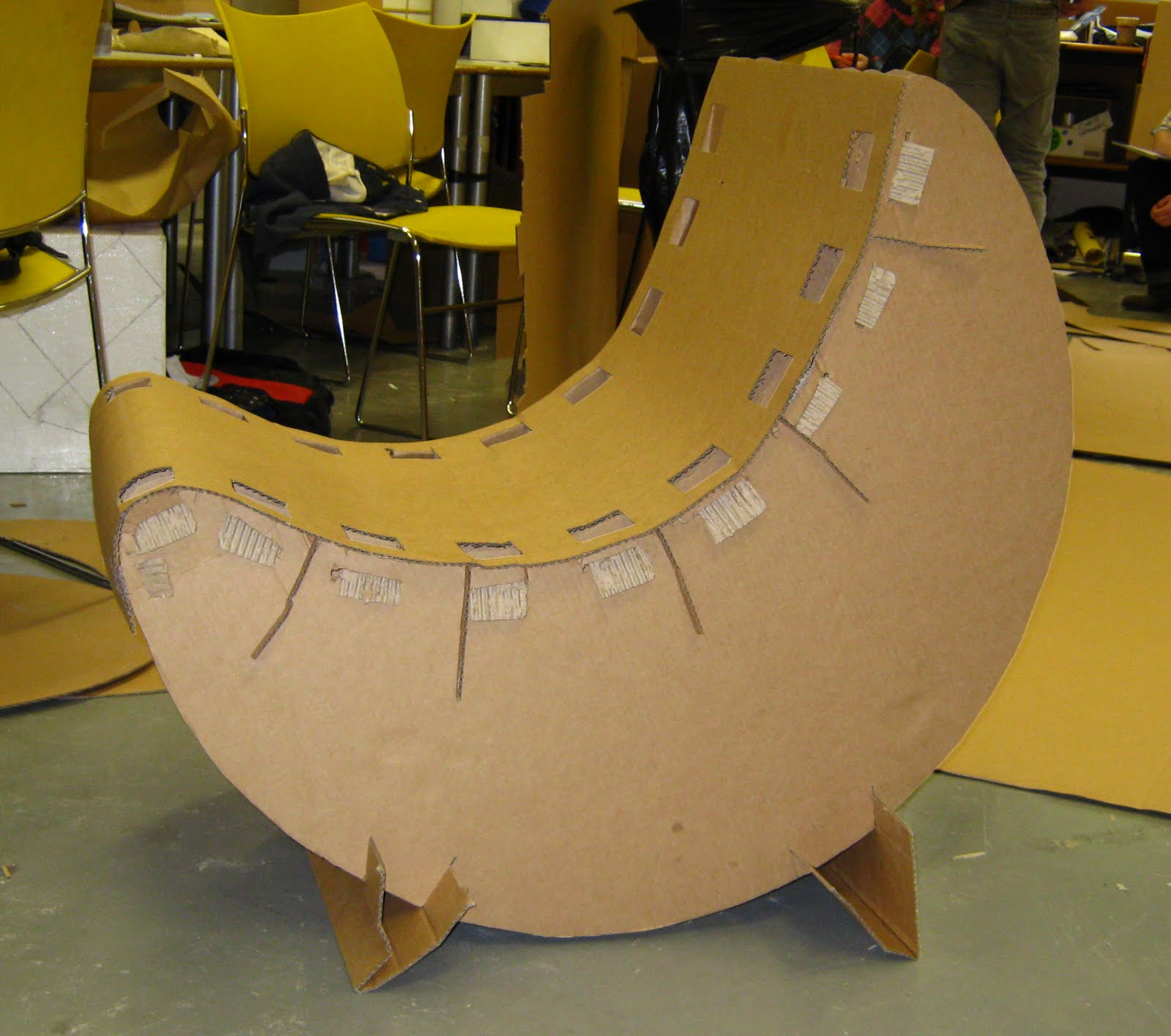 Cardboard rocking chair - Cardboard Rocking Chair 25