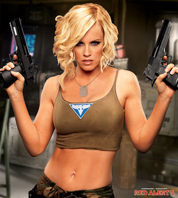 Sexy Jenny McCarthy New Tanya of Red Alert 3