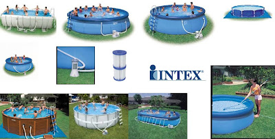 Bananitos piscinas autoportantes intex for Ideas para piscinas intex