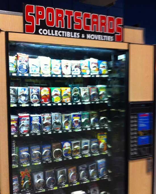 vending machine cards