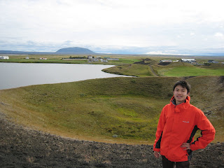 Pseudocrater at Mývatn