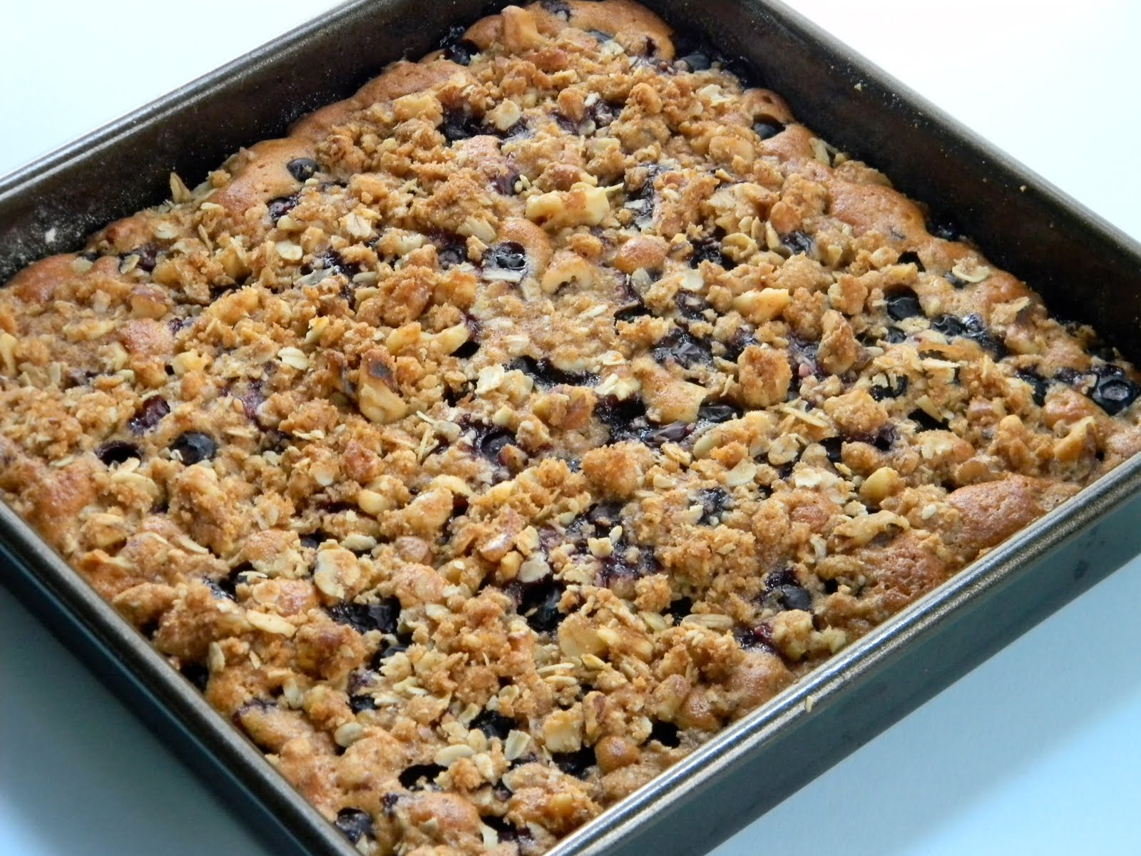 Whole Wheat Blueberry Crumble Cake Eat Good 4 Life
