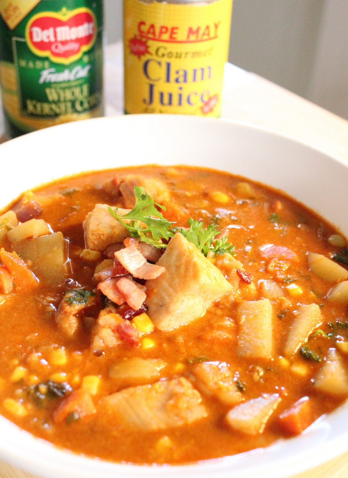 To die for fish chowder for Healthy fish chowder