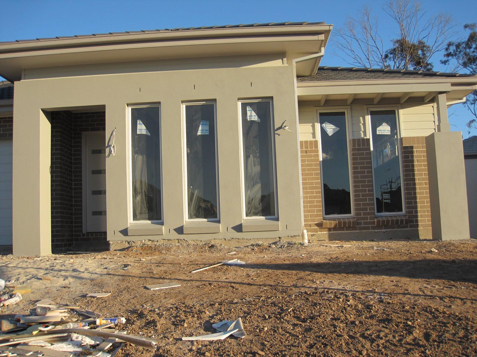Building a saville with eden brae homes lights camera keys - Taubmans exterior paint colours set ...